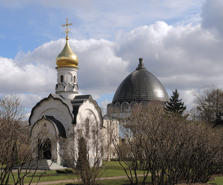 """photo """"The chapel of st. Vasily the Great"""" tags: architecture, landscape,"""