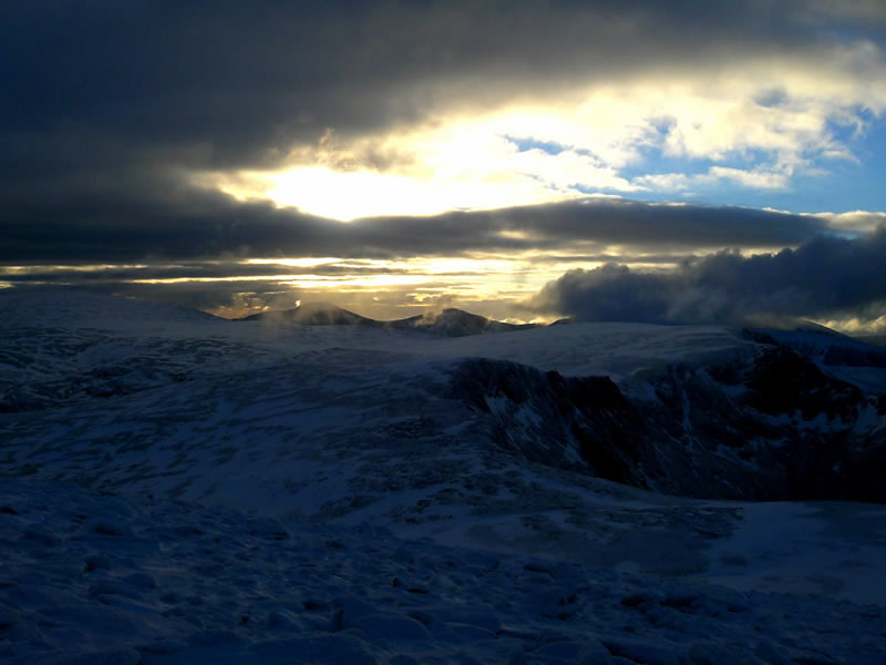 """photo """"The Cairngorm Plateau"""" tags: landscape, mountains"""