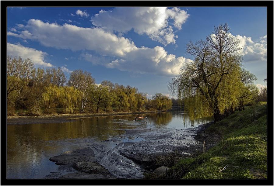 "фото ""The spring motive"" метки: пейзаж, весна, вода"