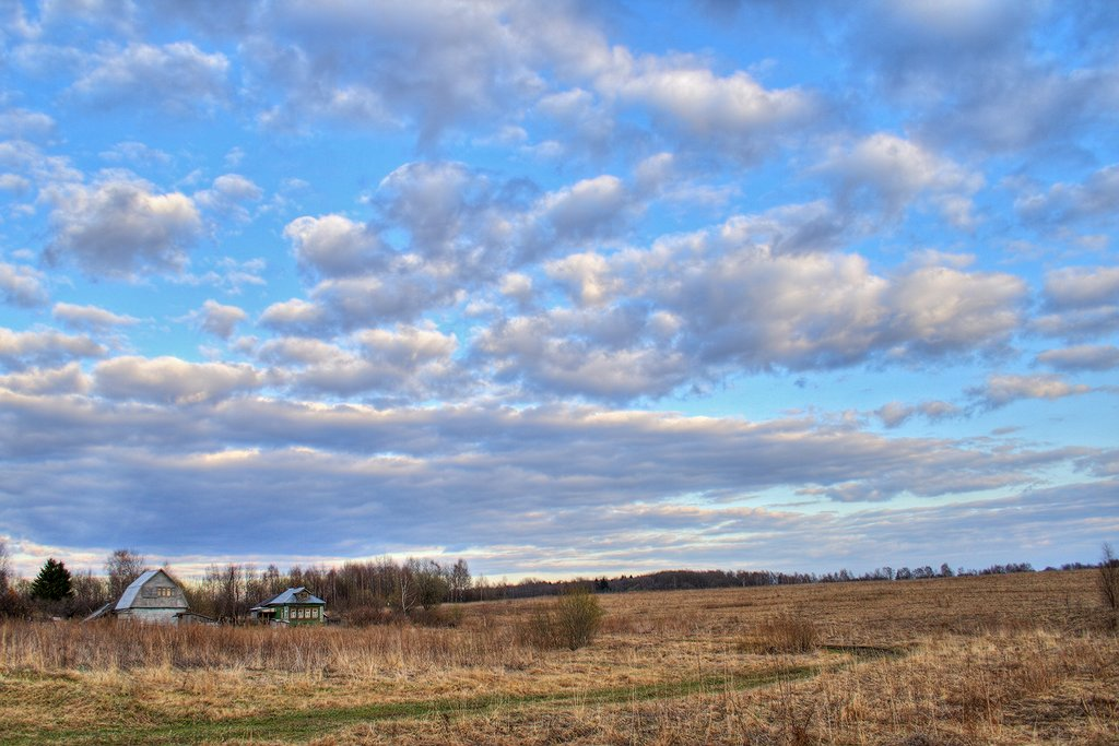 """photo """"***"""" tags: landscape, clouds, spring"""