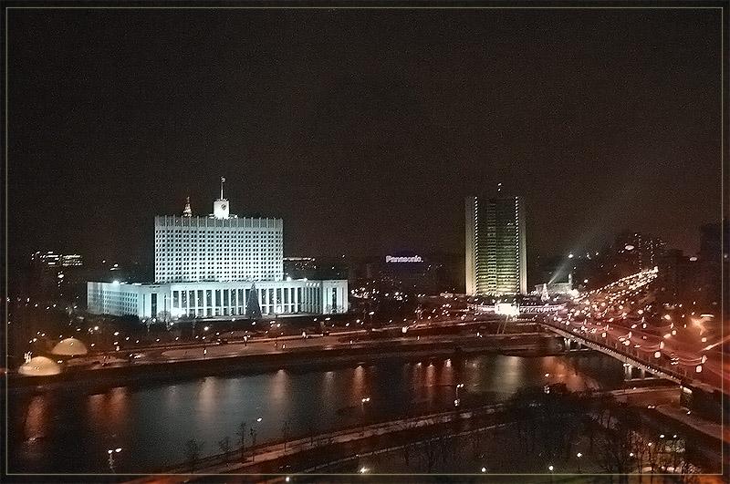 """фото """"Вспоминая о Москве..."""" метки: архитектура, пейзаж, ночь"""