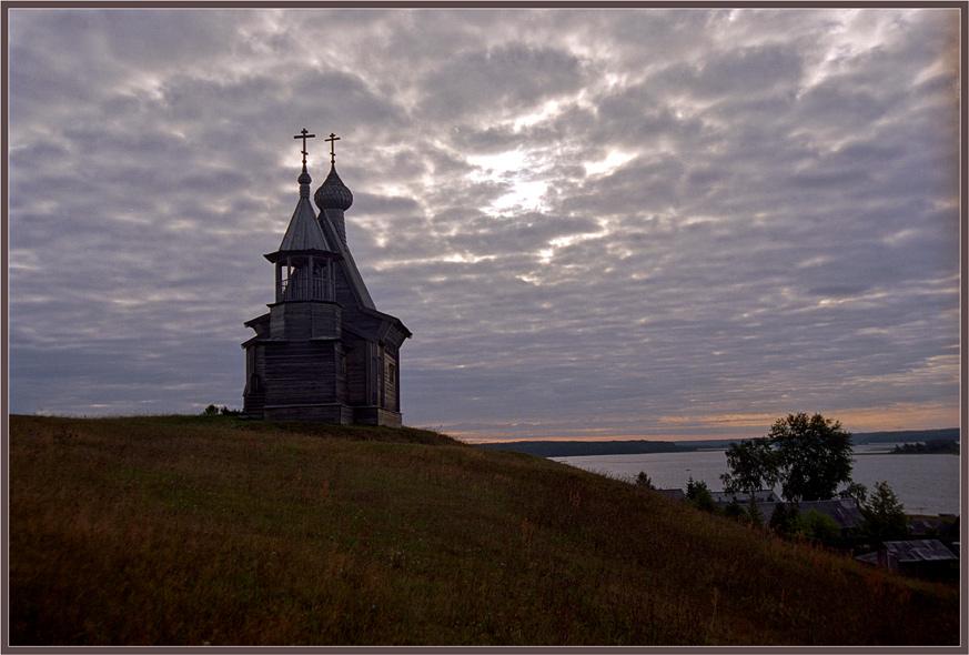 "фото ""На Русском Севере"" метки: архитектура, пейзаж, облака"