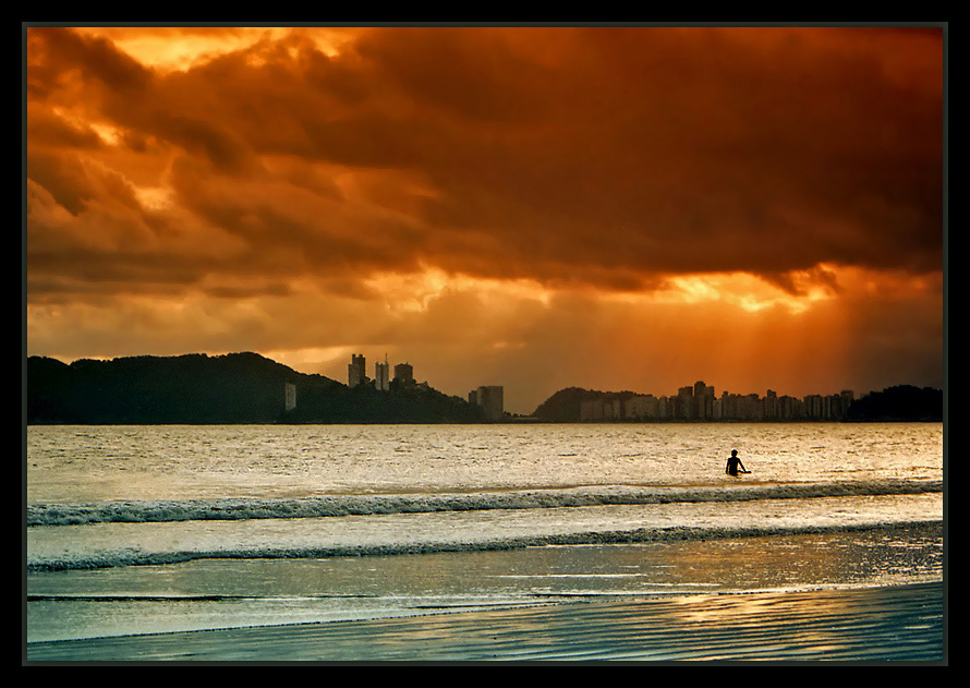 "фото ""In a summer afternoon #3"" метки: пейзаж, вода, закат"