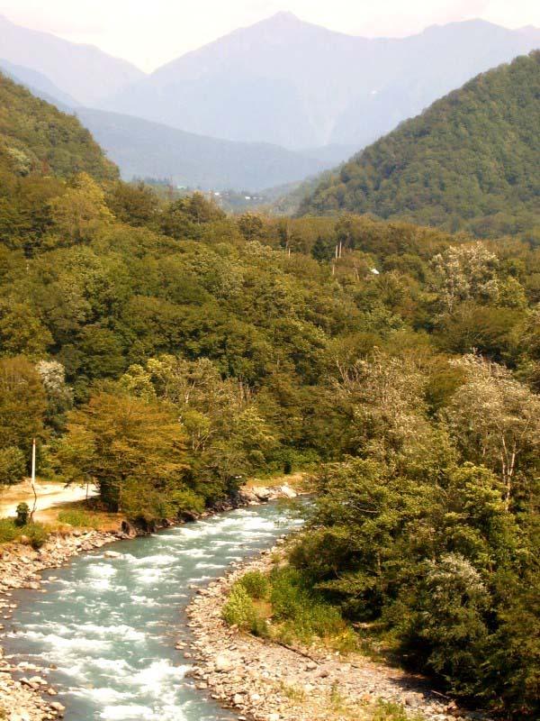 "фото ""река Бешенная"" метки: пейзаж, вода"