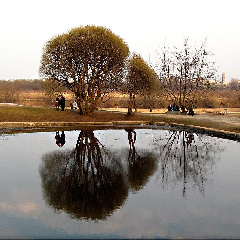 "photo ""Spring evening at Kolomenskoye"" tags: landscape, city, spring"