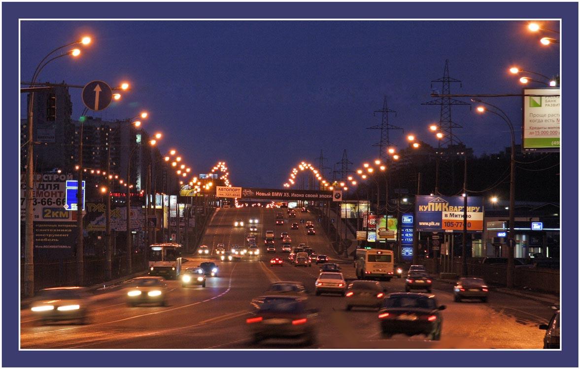 """фото """"Огни Митина"""" метки: город,"""