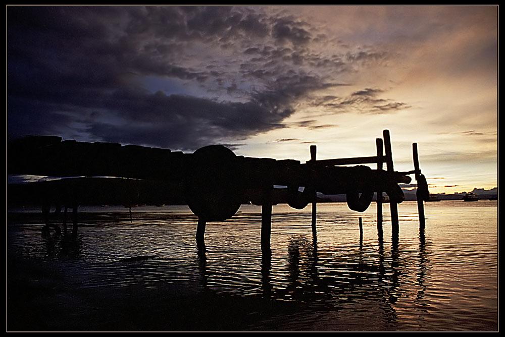 """фото """"Lake Titicaca Evening"""" метки: пейзаж, вода, закат"""