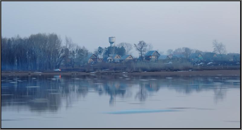 """фото """"Вечер на Белой..."""" метки: пейзаж, весна"""