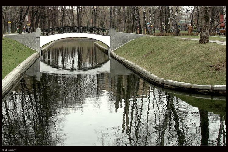 "фото ""Мост."" метки: пейзаж, вода"