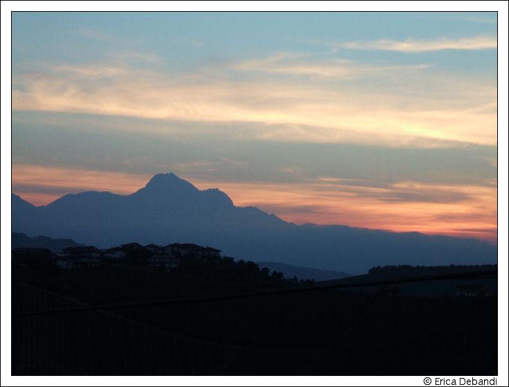 "photo ""Magic mountains"" tags: landscape, nature, sunset"