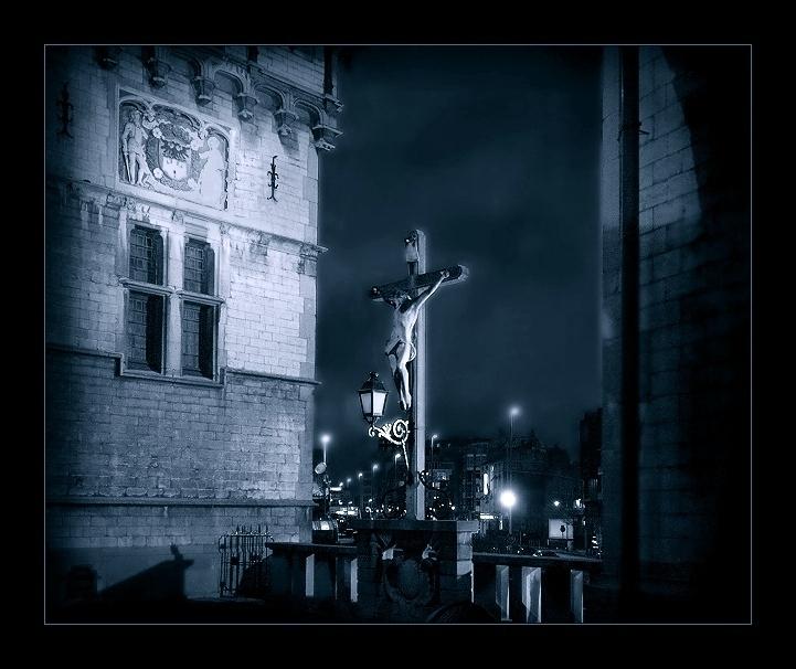 "фото ""Все тот же Антверпен.(Замок) вариант2"" метки: город, архитектура, пейзаж,"