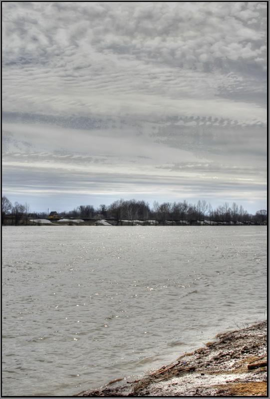 """фото """"Уфимка.Полдень..."""" метки: пейзаж, вода"""