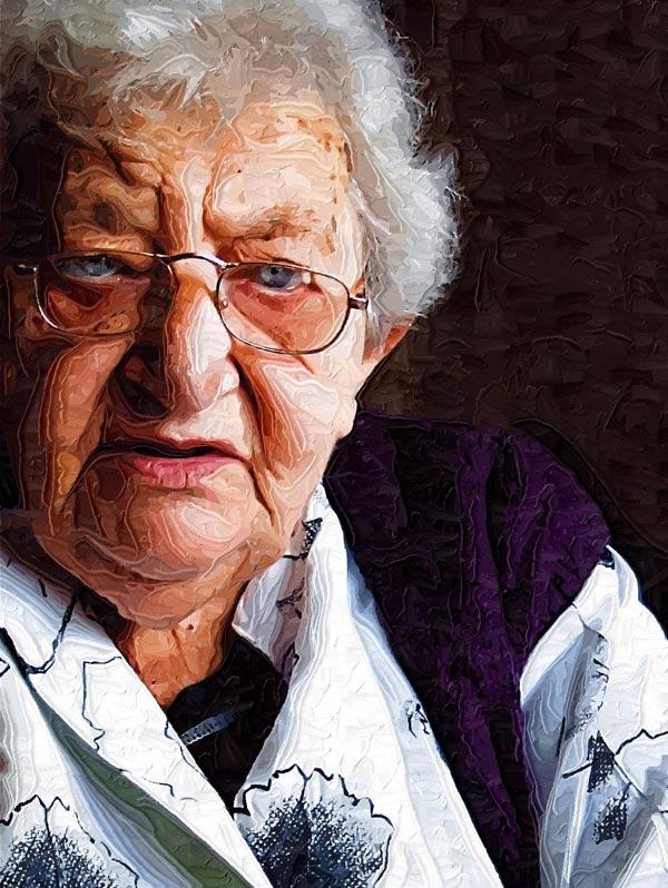 """фото """"Bunica"""" метки: портрет, женщина"""