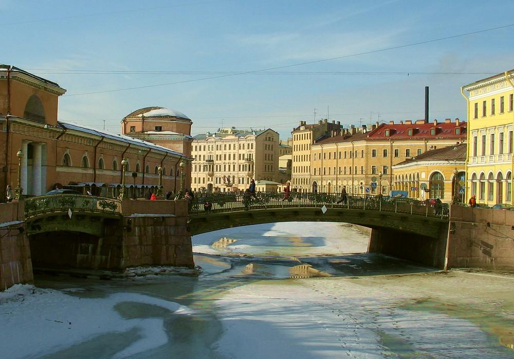 """фото """"Малоконюшенный мост"""" метки: город, архитектура, пейзаж,"""