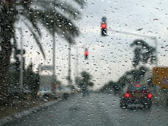 """фото """"Дождь"""" метки: пейзаж, жанр, зима"""
