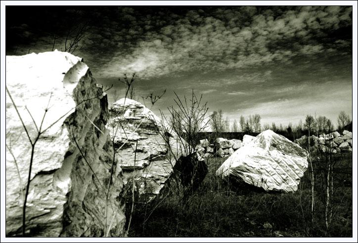 """фото """"Руины древней цивилизации"""" метки: черно-белые, пейзаж,"""
