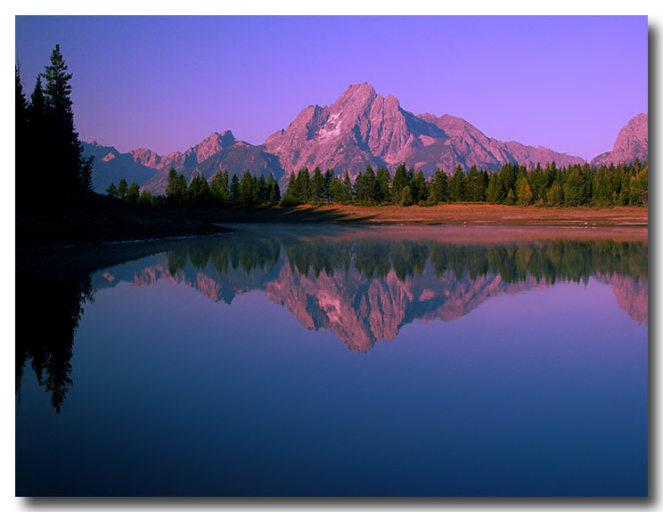 """фото """"Утренние отражения"""" метки: пейзаж, вода, горы"""