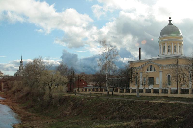 "photo ""Torjok II"" tags: landscape, architecture, spring"