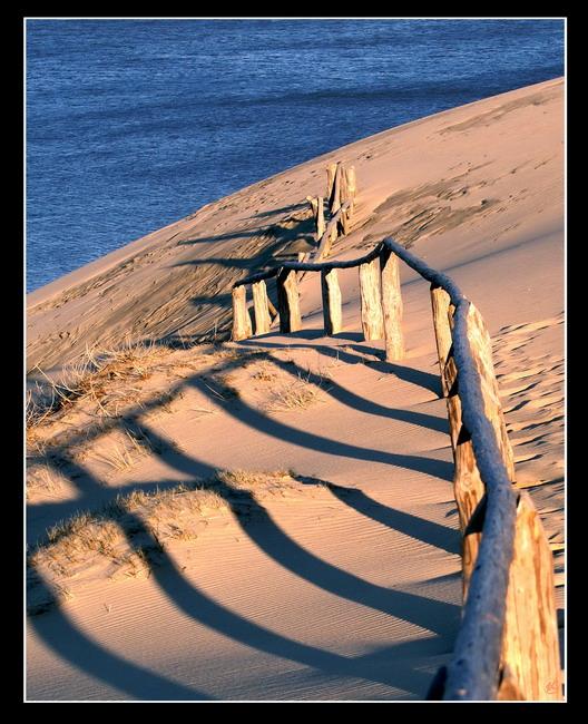 """фото """"Заборчик 2"""" метки: пейзаж, закат"""