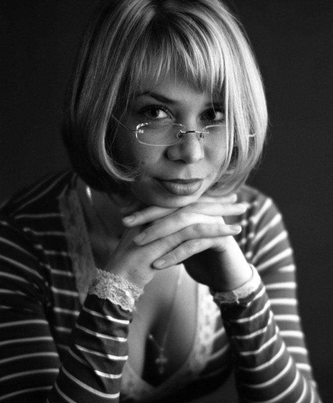 """photo """"Young teacher"""" tags: portrait, woman"""