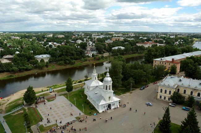 """фото """"Вологда, храм Александра Невского"""" метки: ,"""