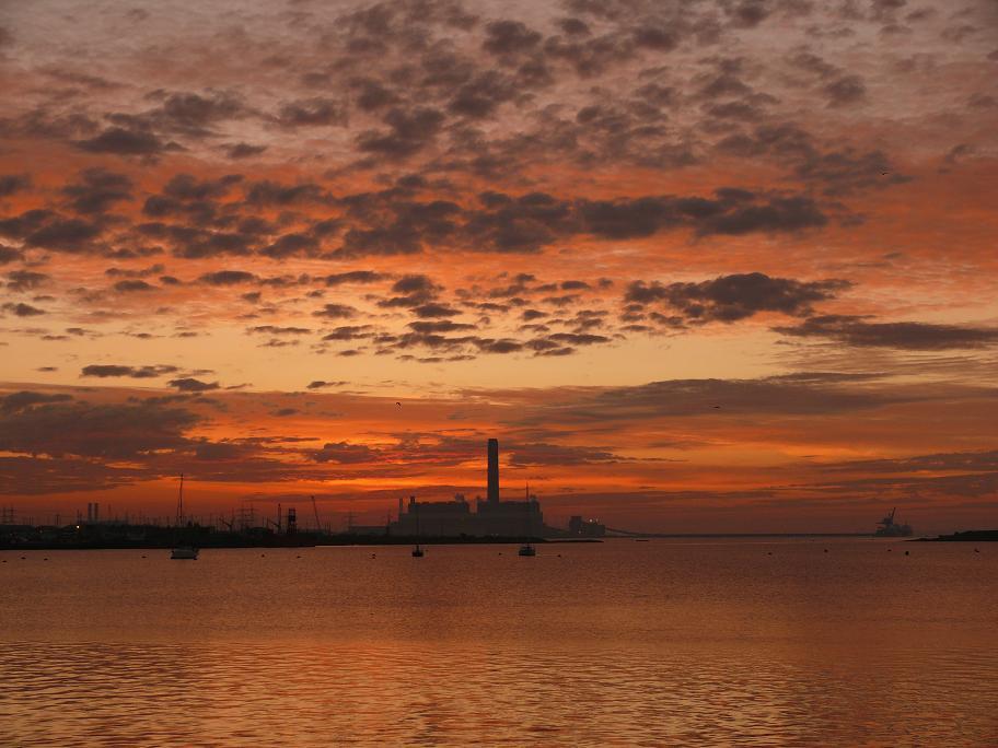 "фото ""Spectacular sky ..."" метки: пейзаж, закат"