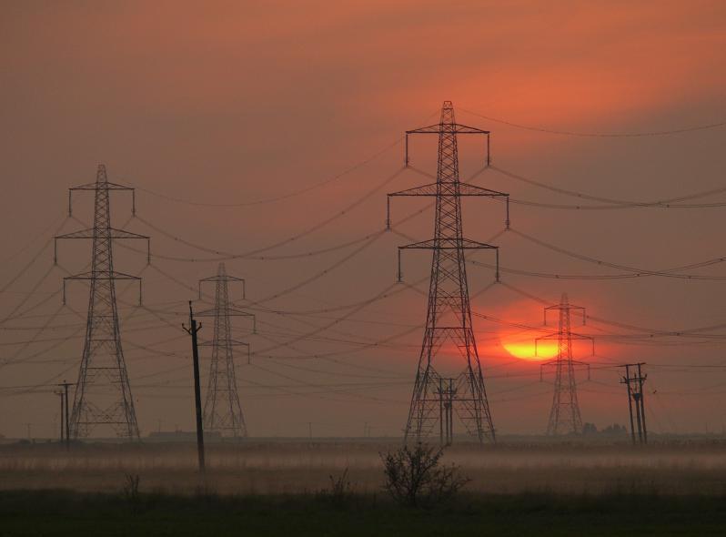 "photo ""Morning Power"" tags: landscape, sunset"