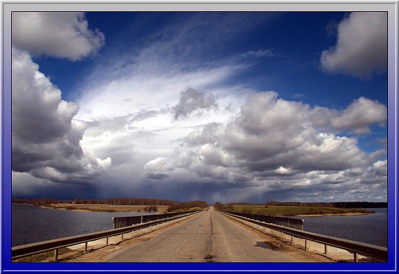 """фото """"Мост в облака"""" метки: пейзаж, весна, облака"""