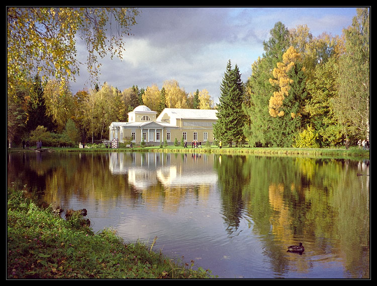 """photo """"Pavlovsk"""" tags: landscape, architecture, autumn"""