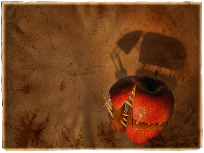 """photo """"Devi'apple"""" tags: abstract,"""