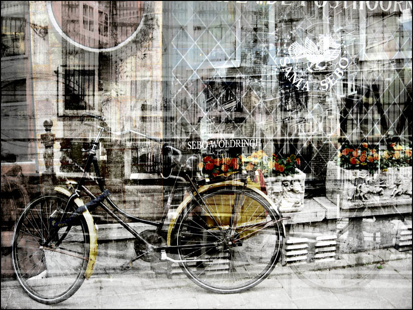"""photo """"The Doors, Windows, Wheels"""" tags: montage, misc.,"""