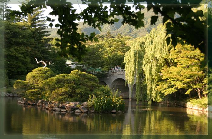 """фото """"Сказочный мостик"""" метки: пейзаж, вода, лето"""