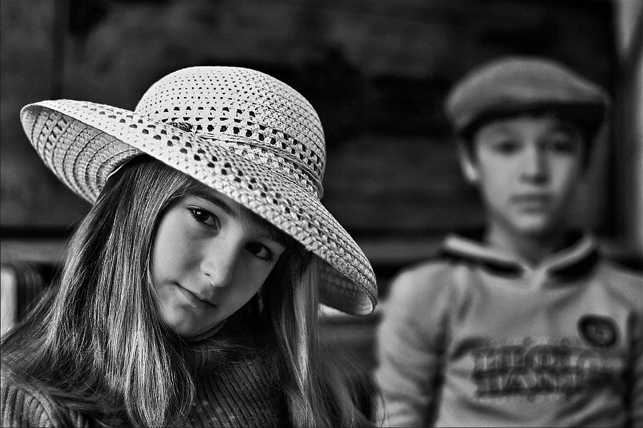 """фото """"Барышня и хулиган"""" метки: жанр, черно-белые,"""