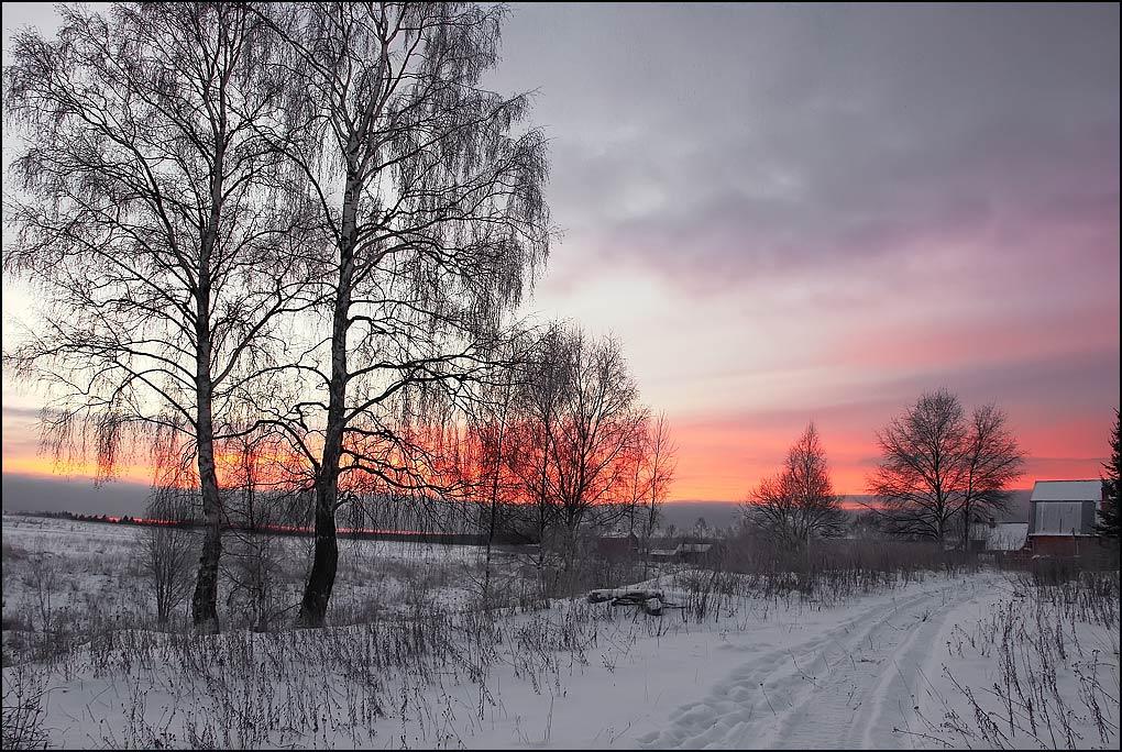 """фото """"У Евдокимыча."""" метки: пейзаж, зима"""