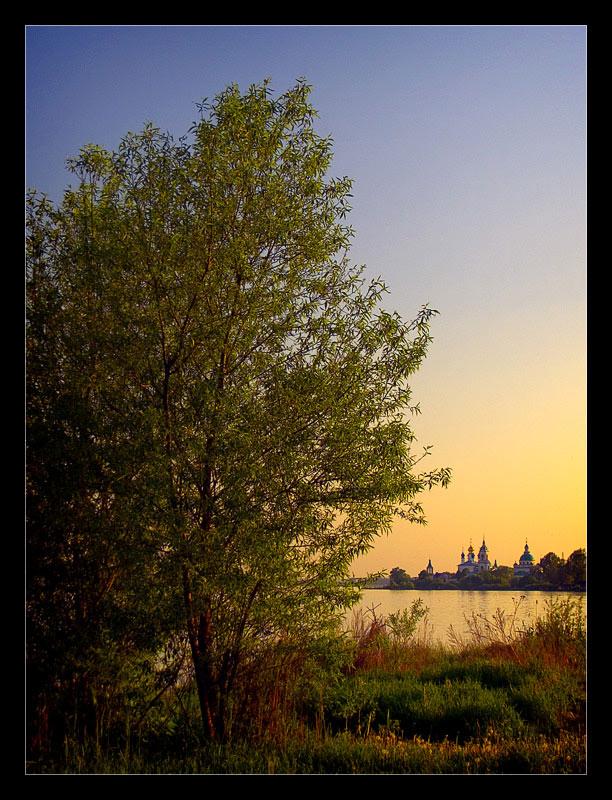 """фото """"Закатная"""" метки: пейзаж, вода, закат"""