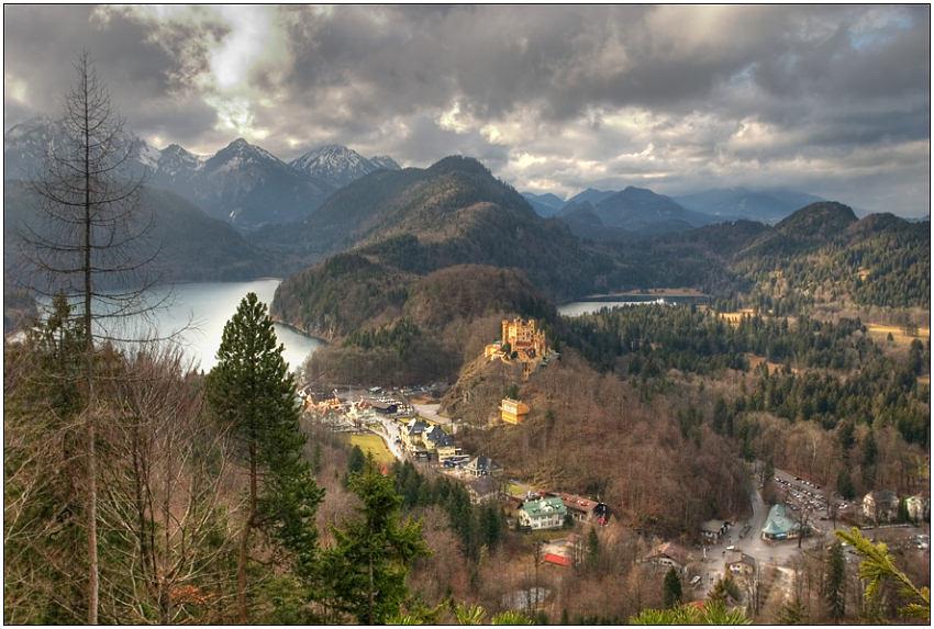 """фото """"Баварские Альпы"""" метки: пейзаж, горы, облака"""