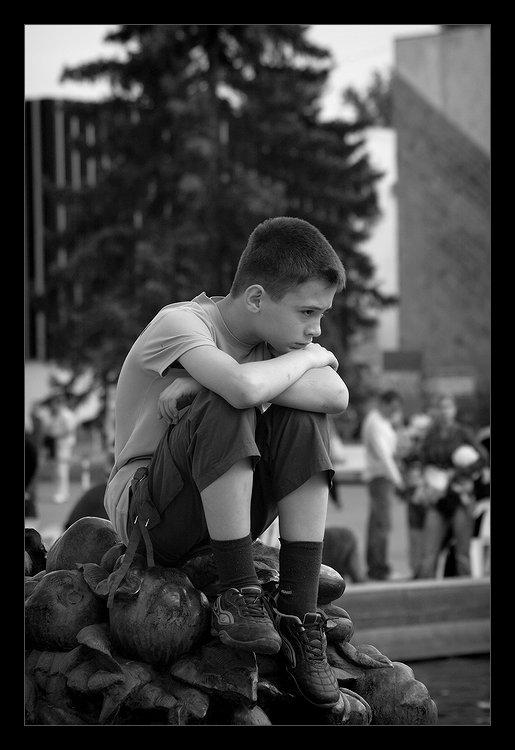 """фото """"Одиночество маленького человека"""" метки: жанр,"""
