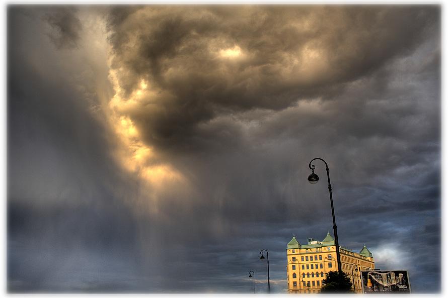 """фото """"under the cloud"""" метки: пейзаж, архитектура, облака"""