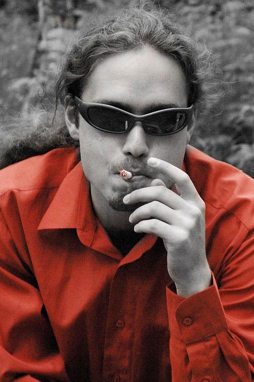 """фото """"to smoke"""" метки: портрет, мужчина"""