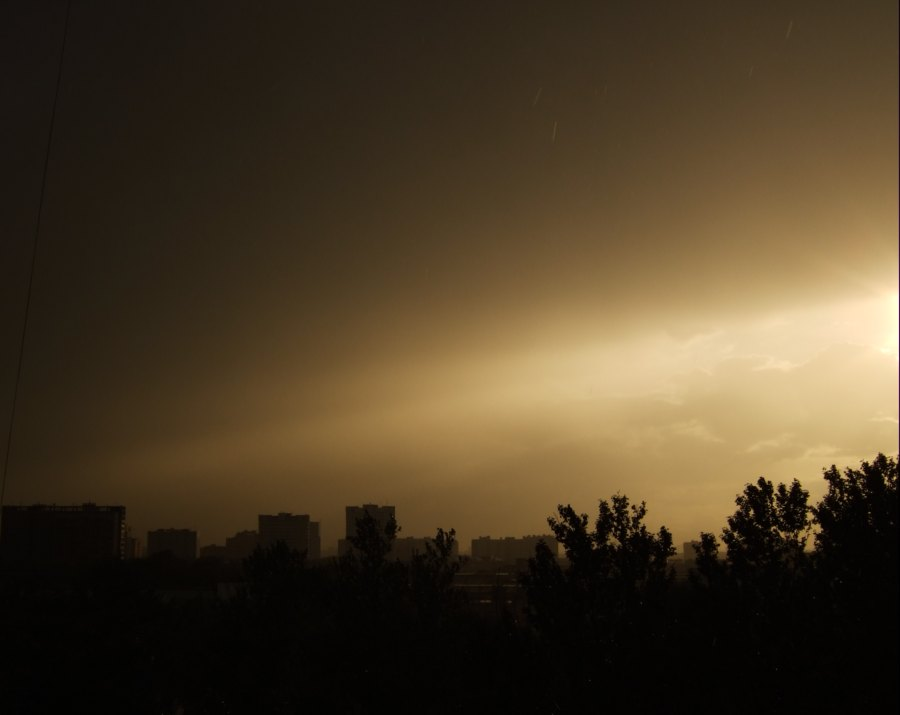 "фото ""конец..."" метки: пейзаж, закат"