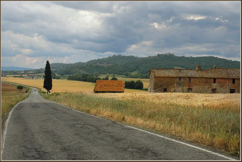"фото ""Дорога..."" метки: пейзаж, путешествия, Европа, лето"