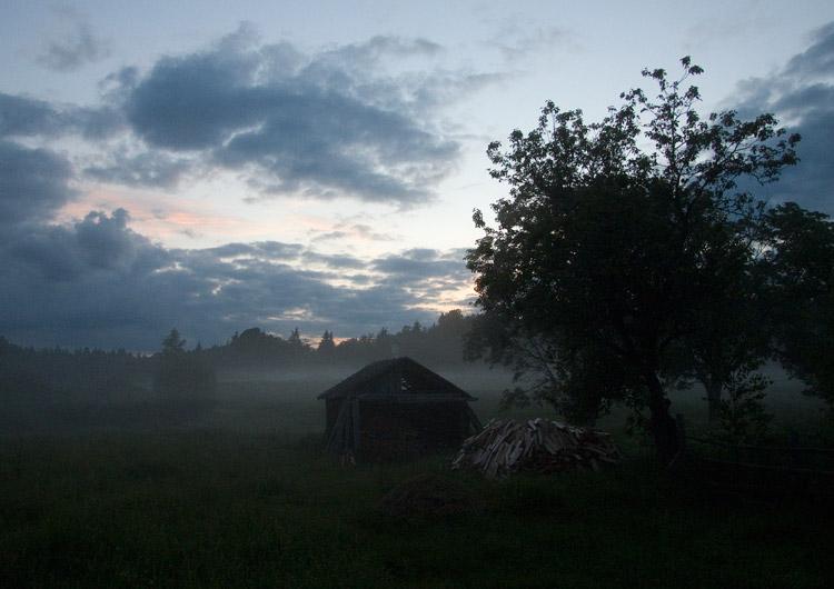 """фото """"Туманный вечер"""" метки: пейзаж,"""