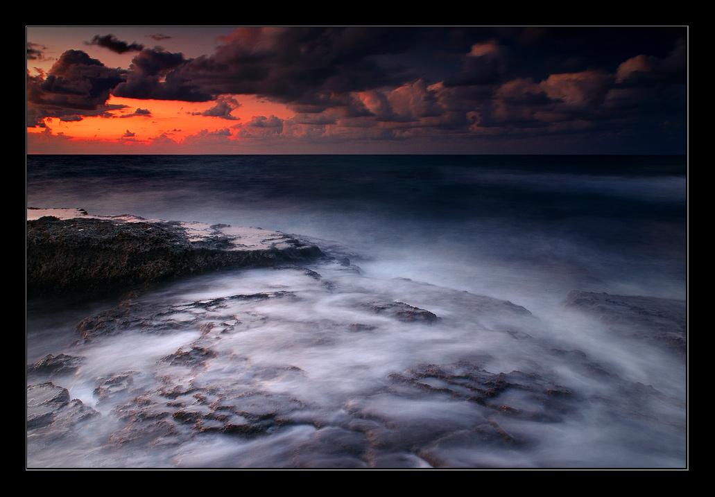"""фото """"Закаты Средиземного моря ..."""" метки: пейзаж, вода, закат"""