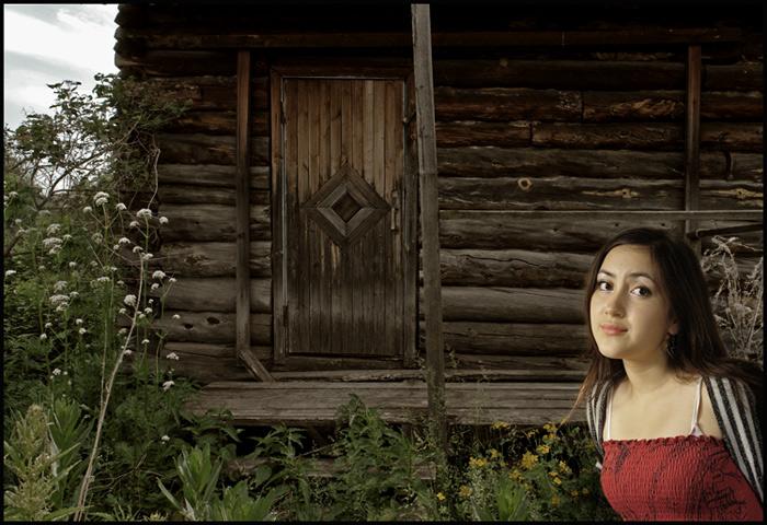 """фото """"дом, где живут привидения..."""" метки: портрет, женщина"""