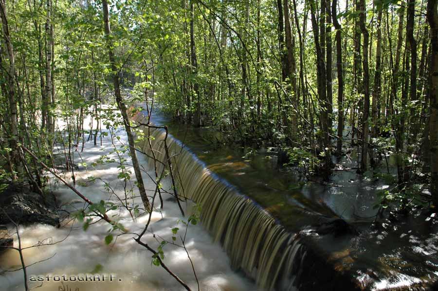 "фото ""Порожек"" метки: пейзаж, вода"
