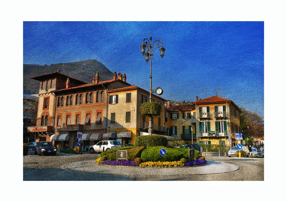 """фото """"Вечер в Комо"""" метки: архитектура, путешествия, пейзаж, Европа"""