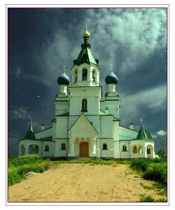 """фото """"Церковь в Российской глубинке"""" метки: архитектура, пейзаж,"""