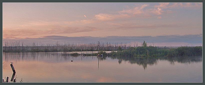 "фото ""Раннее утро...."" метки: пейзаж, вода, закат"