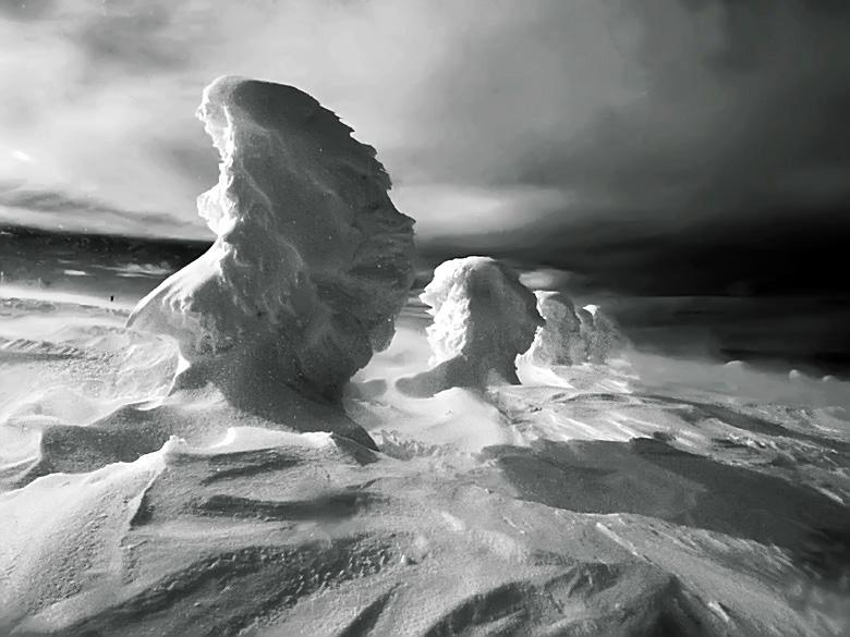 "фото ""Winter Portraits (W/B)"" метки: пейзаж, горы"