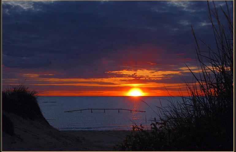 "фото ""Sunset at Midnight"" метки: пейзаж, закат, ночь"